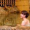 【三朝温泉】大きな水車がグルグル回転大迫力!花屋別館で日帰りに入浴♪