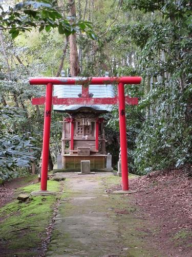 貴重な稲荷神社