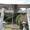 矢送神社の石段に圧倒される(倉吉市関金町)