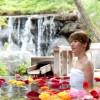 雅な温泉「三朝館」で日帰り入浴。保温力が違います!
