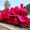 【機関限定!】恋よ来い!若桜鉄道のピンクSLがスゴい!